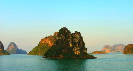 ha: vietnam travel beach ocean panorama Ha Long
