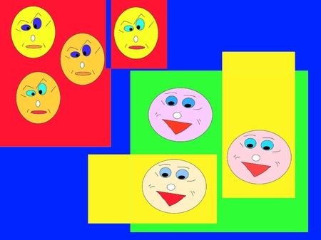 faces emocions funny happy angry  cartoon stickman