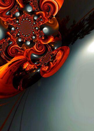 techical: progettazione grafica di arte astratta colorata pittura Pictures nuova arte Archivio Fotografico