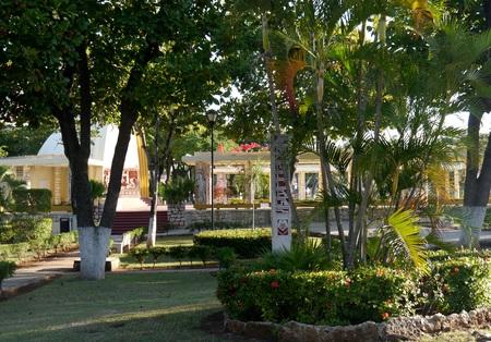 picknick: american park merida mexico travel garden architecture