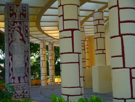 harmonie: american park merida mexico travel garden architecture