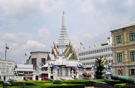 asian culture: Thailand Bangkok city panorama asian culture temple