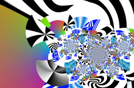 techical: Abstract illustration background graphic design Stock Photo