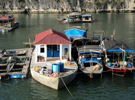 nger: vietnam travel beach ocean panorama Ha Long Bay rocks