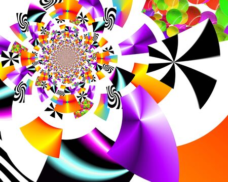 Abstract illustration background graphic design Stock Photo