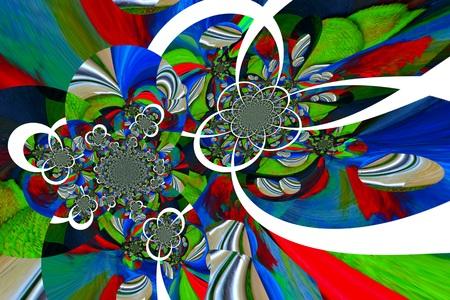grafisch ontwerp: Abstract illustration background graphic design Stockfoto