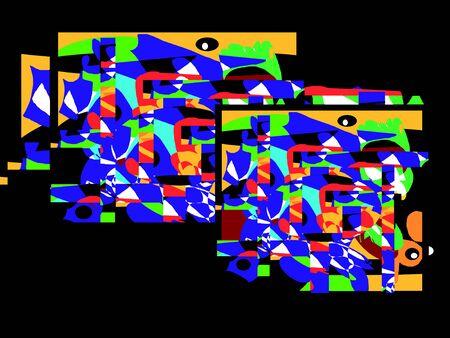 grafisch ontwerp: Illustratie achtergrond grafisch ontwerp abstract Stockfoto