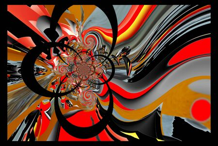 artdeco: Illustration background graphic design abstract