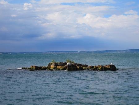 garda: Italy Garda Lake of Garda Lake Mountain Stock Photo