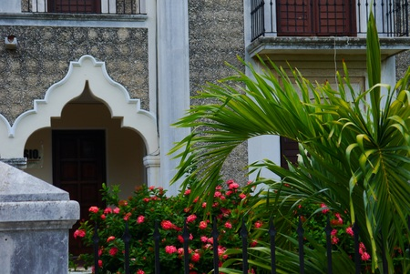 colonial house: Merida Mexico Colonial House mexican architecture Editorial