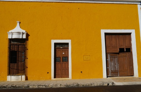 yucatan: Izamal Yucatan Mexico City monastery convent church yellow