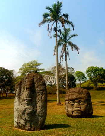 tabasco: stoneheads of tabasco Mexico history and culture
