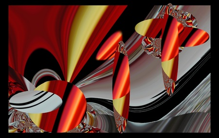 artdeco: llustration background graphic design abstract Stock Photo