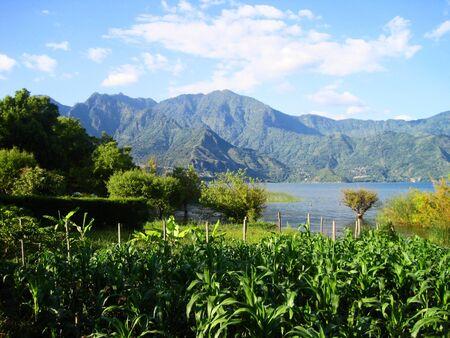 lakeview: Lake Atitlan Guatemala San Marcos mountain panorama