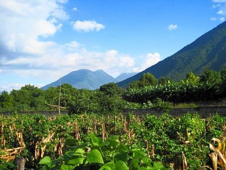 marcos: Lake Atitlan Guatemala San Marcos mountain panorama