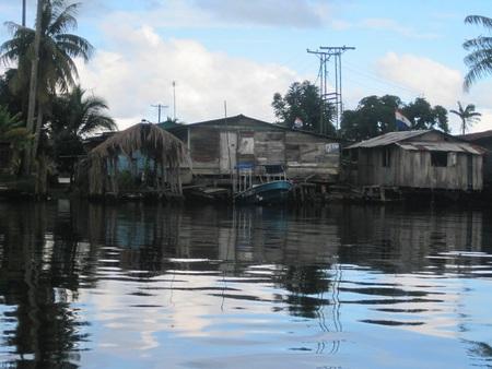 fishing pier: Panama Ocean Panorama Bocas Fishing Pier