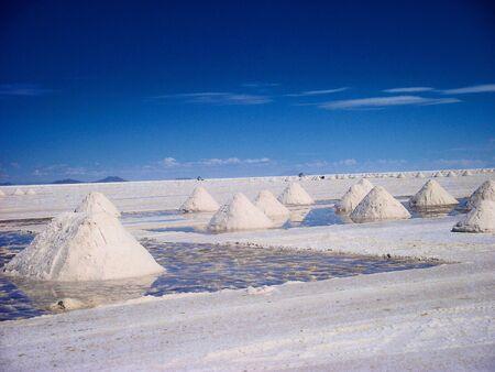 Salzsee in Bolivien Salar de Uyuni