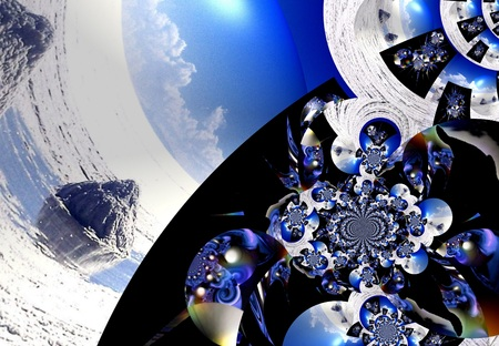 technic: llustration background graphic design abstract Stock Photo