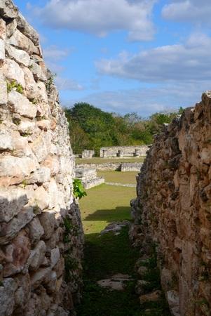 cultura maya: mayan ruins pyramid culture mexico Mayapan Quintana Roo