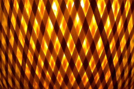 cross hatched: abstract yellow orange background of cross lines
