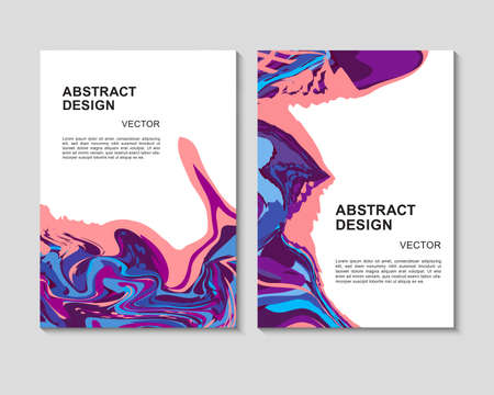 The abstract colorful background. It can be used for posters, cards, flyers, brochures, magazines and any kind of cover. EPS 10. Vector Vettoriali