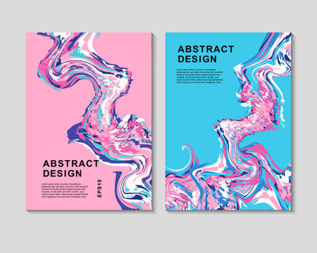 The abstract colorful background. It can be used for posters, cards, flyers, brochures, magazines and any kind of cover. EPS 10. Vector Çizim