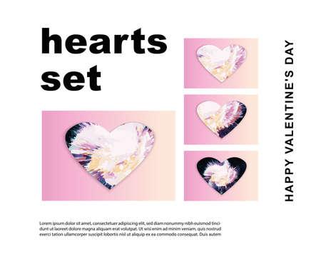 heart. saint valentine's day. 14 february. vector EPS 10