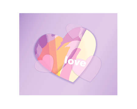 heart. saint valentine's day. 14 february. vector EPS 10 Vectores