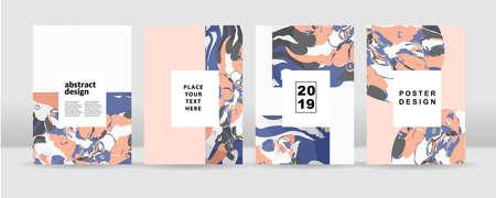 Le fond coloré abstrait. Il peut être utilisé pour des affiches, des cartes, des dépliants, des brochures, des magazines et tout type de couverture