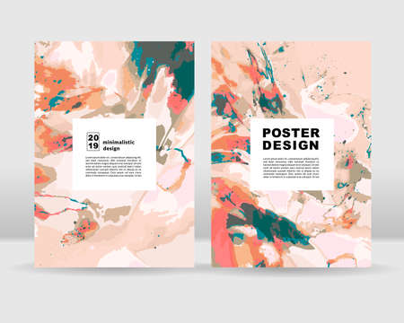Abstract poster background. It can be used for web and print