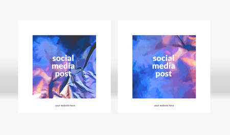 social network elegant stories template