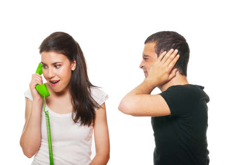 disturbed: Boyfriend feeling disturbed by the phone calls