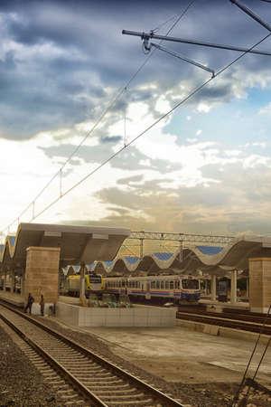 estacion de tren: La estaci?n de tren Editorial