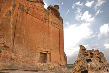 phrygian: Yazilikaya monument