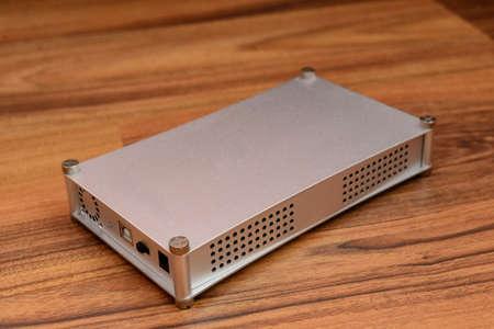 disco duro: Disco Duro Externo 3.5 Foto de archivo