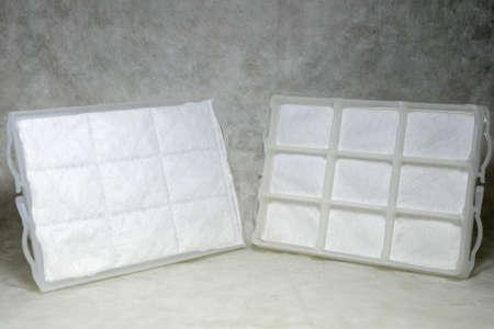 Vacuum hepa filters Stock Photo