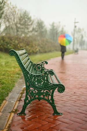 empty bench: Empty bench