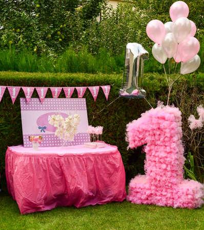 first birthday: First birthday decorations