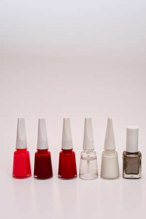 Woman nail polish isolated photo