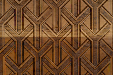 Carved wood texture background Stock Photo