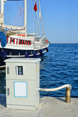 groundwater: Waste water treatment system on the dock