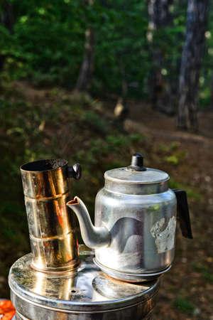 Tea urn samovar