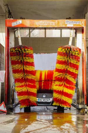 machine à laver: laveur de voiture