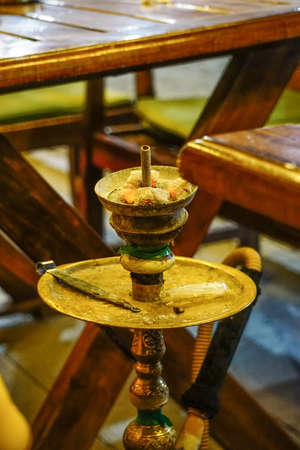 inhaled: Water pipe hookah