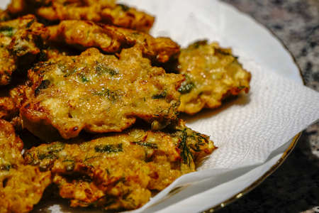 Zucchini Vegetable patty Hash browns