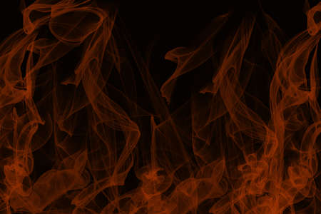 Fire texture on black background