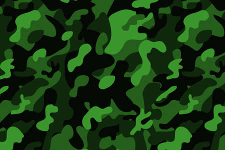 Camouflage texture background template