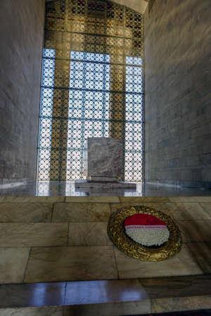 Interior of the Anitkabir monument mausoleum