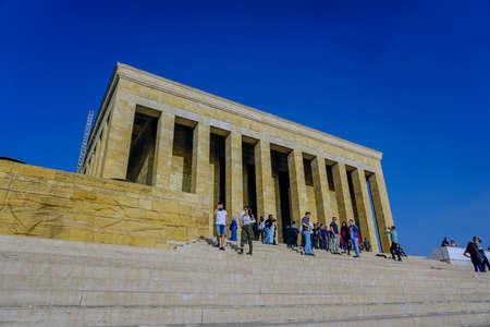 12 October 2019, Ankara Turkey, Anitkabir mousoleum monument in Ankara Turkey