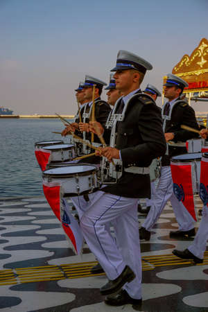 29 October 2019, Izmir Turkey, Celebrations and torch light procession on izmir konak on 29 October for the republic day;